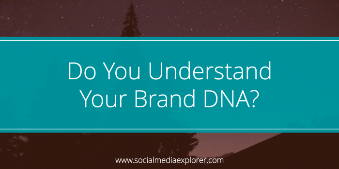 Do You Understand Your Brand DNA?