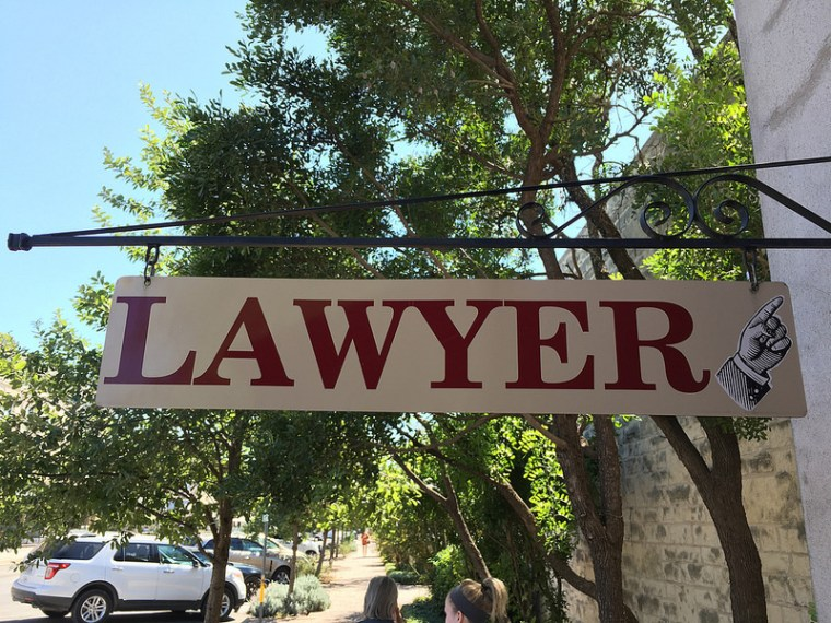 Lawyer Shingle