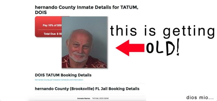 """""""This is getting old!"""" (Bail Bond City)"""
