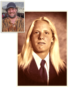 michael-caserta-stackpot-high-school-senior-photograph-70s-surfer-dude-before-after-drunk-drug-addict-orange-county