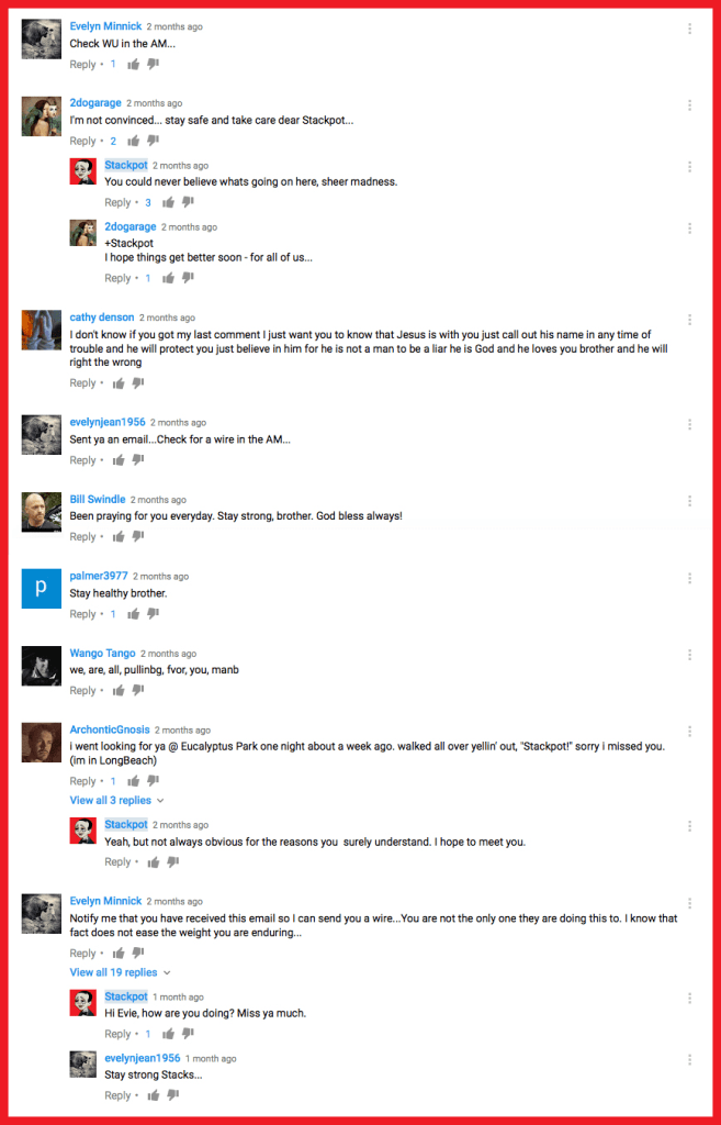 stackpot-michael-caserta-youtube-comment-section-comments-concern-prayers