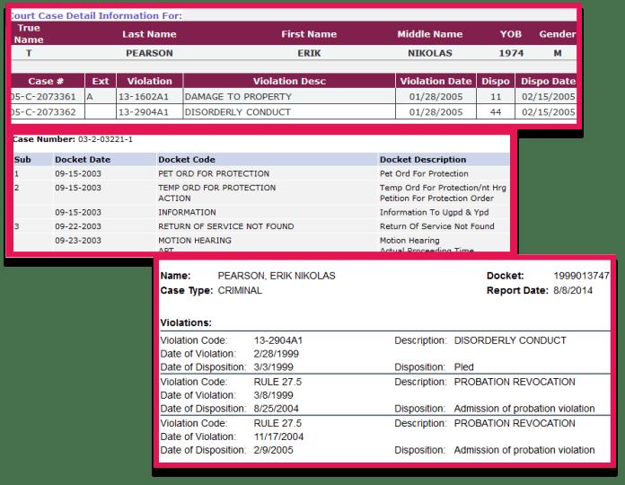 Erik Nikolas Pearson yakima-washington-courts-wa-yakima-county-thurston-superior-court-case-summary-warrant-overpaid-benefits-hoaxer-sandy-hook-hoax-hoaxers-criminal-probation