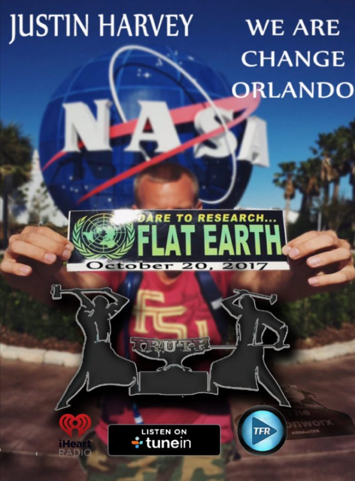 Justin Harvey - WeAreChange Orlando - Flat Earth Hoax