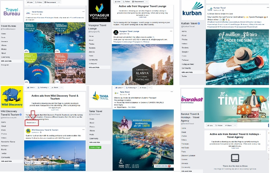 Check How Travel Agencies In Lebanon Are Promoting Their Summer Packages Through Facebook Ads And What Can You A Agency Owner Learn From The Below