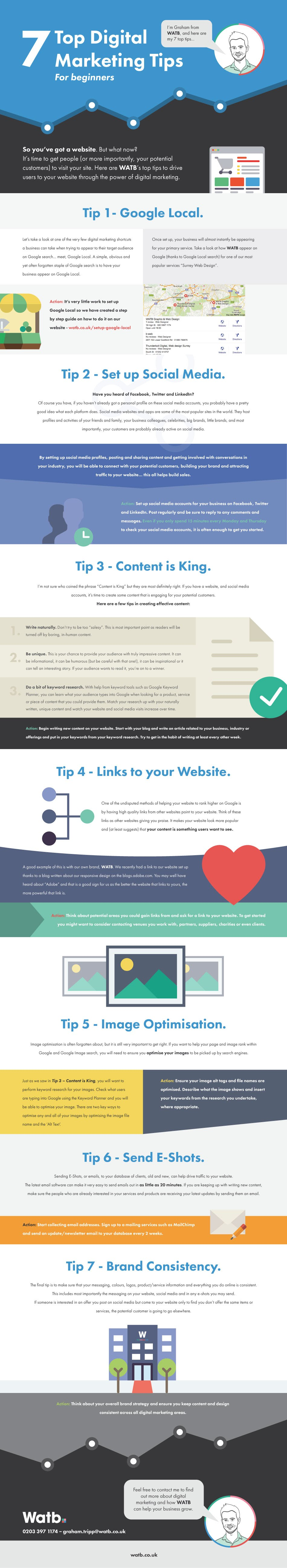 7 Top Digital Marketing Tips [Infographic] | Social Media Today