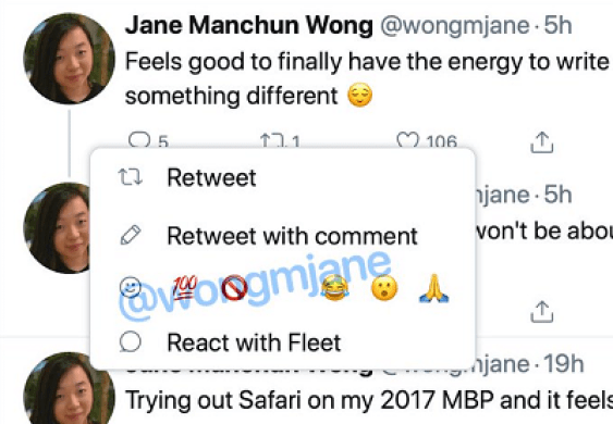 Twitter is coming up with Emoji Reactions feature