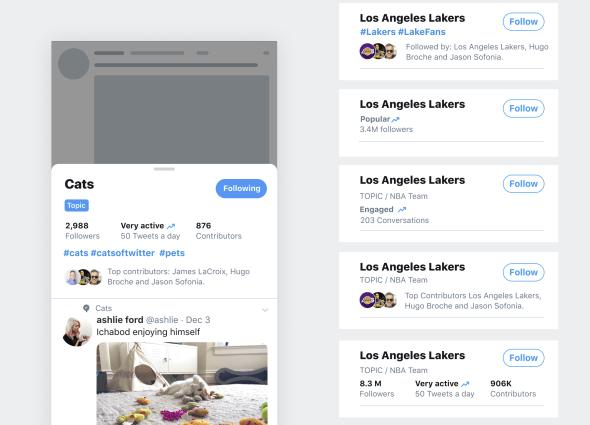 Twitter lists update