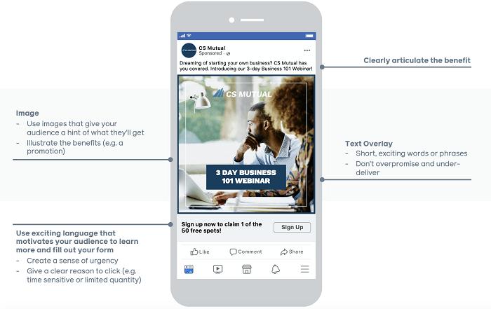 Quảng cáo thế hệ chính trên Facebook