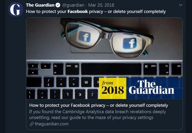 Guardian warning