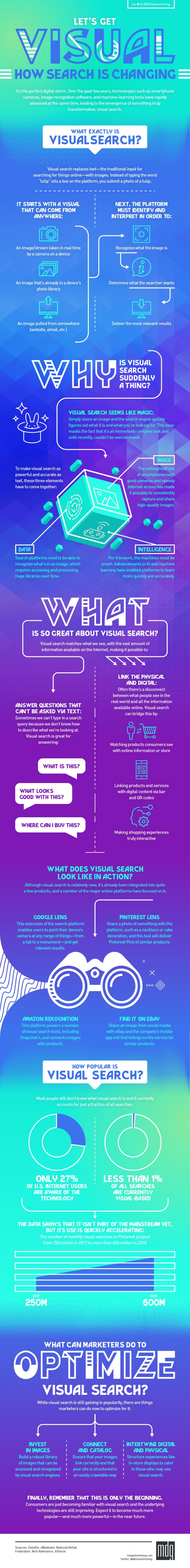 Visual Search Infographic