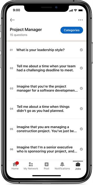 LinkedIn interview preparation