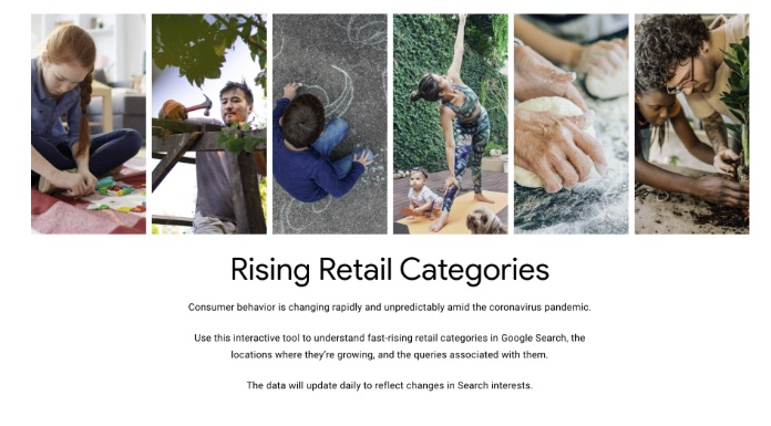 Google Retail Trends Tool