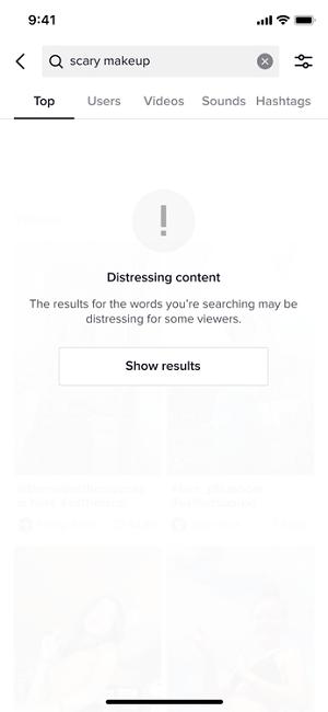 TikTok content shield example