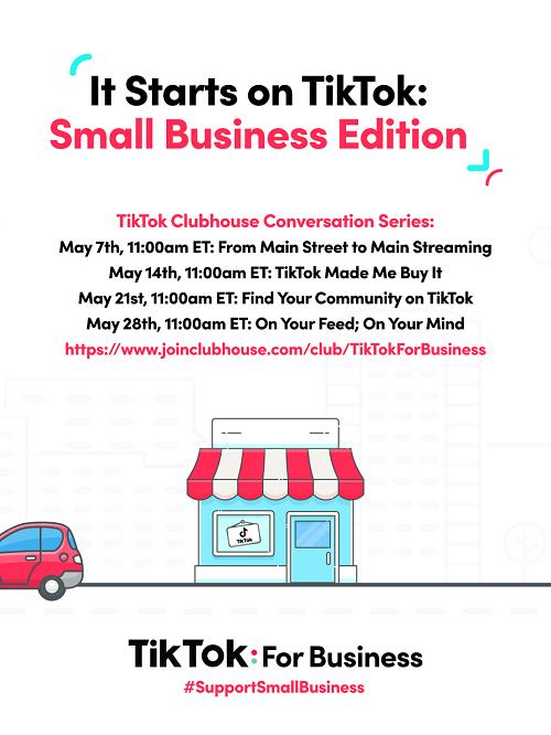 TikTok Small Business Month