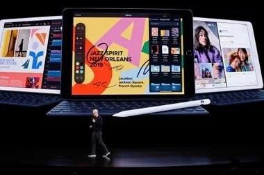 La tableta iPad ya cuenta con una séptima generación de equipos, está disponible en diversos tamaños de pantalla y dispone de accesorios como un teclado y un lápiz stylus