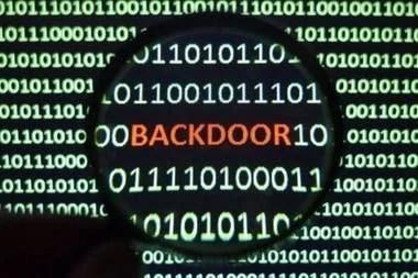 Las puertas traseras pueden construirse a través de software o hardware