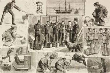 Antes de la invención del Clayton, la fumigación de los barcos se hacía de forma manual