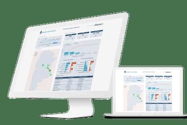 El tablero de Globant y Salesforce