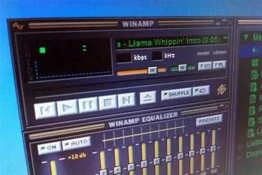 El reproductor de MP3 Winamp fue otro de los grandes impulsores del formato