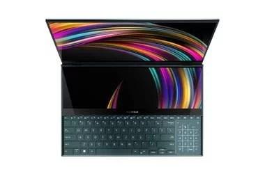 El diseño de Asus en la ZenBook Pro Duo desplazó al teclado hacia el borde inferior
