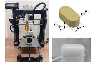 Los investigadores de Bahía Blanca demostraron que con una impresora 3D se pueden fabricar nutracéuticos o alimentos con componentes beneficiosos para la salud