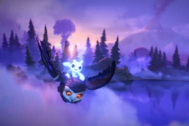 Una vista de Ori and the Will of the Wisps