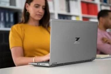 HP renovó su propuesta para el segmento profesional con los modelos portátiles ZBook Fury y ZBook Power