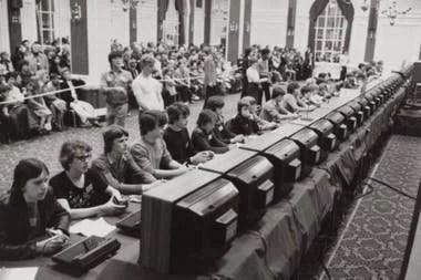 Competencias regionales de Space Invaders (1980)