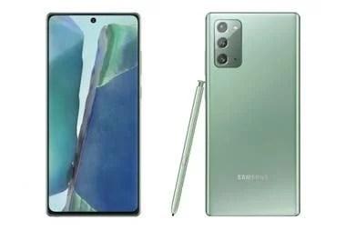 El Galaxy Note20 tiene un tamaño casi idéntico del Galaxy S20+, aunque resigna algo de batería para dejar lugar al lápiz