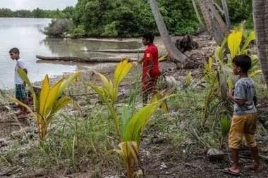 Philpot espera que los niños y jóvenes de Maldivas, que casi nunca tienen oportunidad de bucear, se interesen más por su entorno