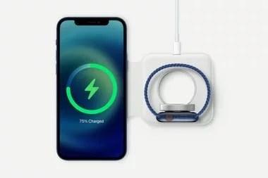 Apple revivió la tecnología MagSafe para optimizar la carga mediante un sistema magnético que permite alinear de forma precisa el dispositivo a la base
