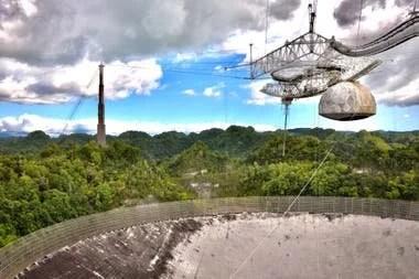 En 1974, el radiotelescopio se usó para enviar un mensaje al universo, avisando de nuestra presencia
