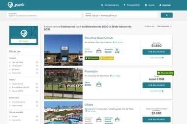 Yappla cuenta con más de 30 balnearios, y esperan alcanzar a las 50 locaciones antes de fin de este año, con reserva y pago online