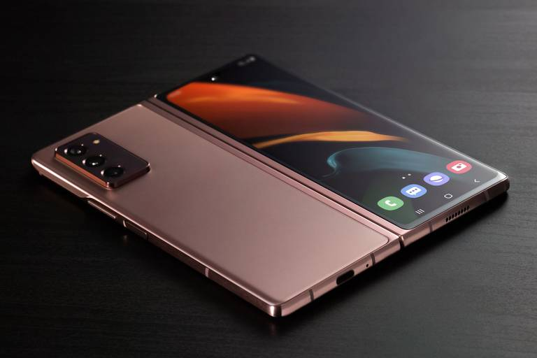 El nuevo diseño del Samsung Galaxy Z Fold2