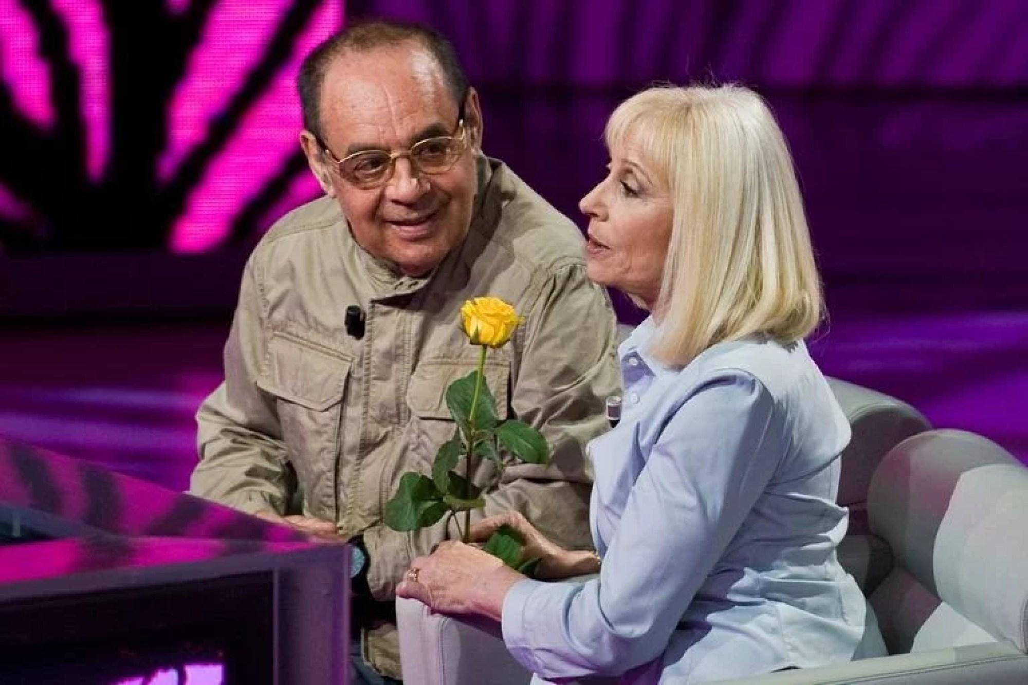 Raffaella Carrá junto a su primer gran amor: Gianni Boncompagni
