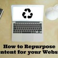 Repurpose Content for your Website