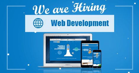 we are looking for a web developer