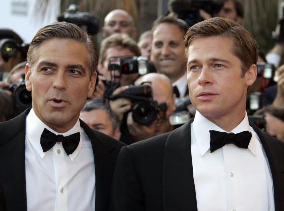 Clooney plans to 'end' Pitt's career with prank - Social News XYZ
