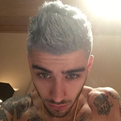 Zayn Malik Dyes Hair Blonde