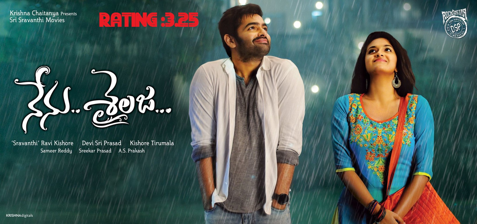 Nenu Sailaja Review - A Different Kind of Love Story