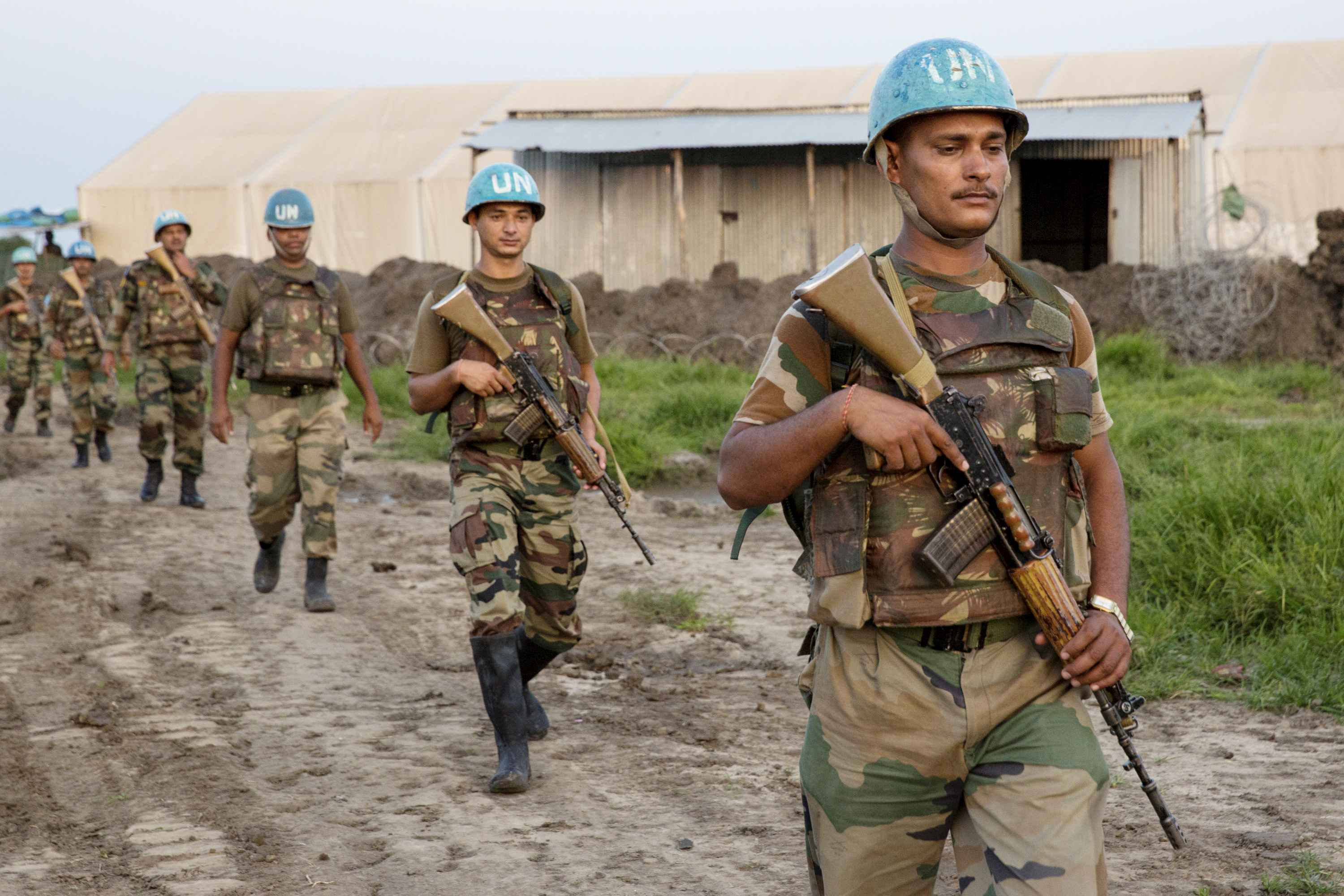 Indian peacekeepers take robust measures to protect South Sudan refugees