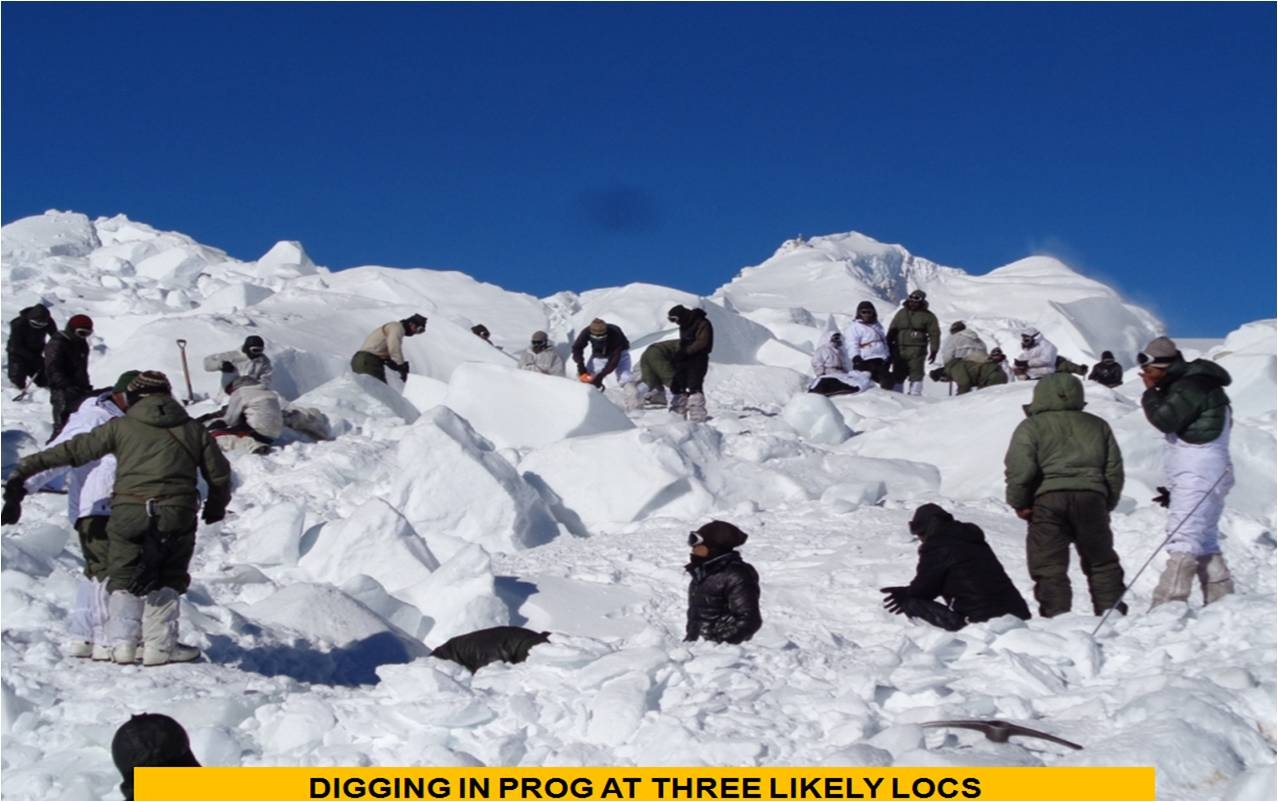 Bodies Of 9 Siachen Soldiers Brought to Delhi