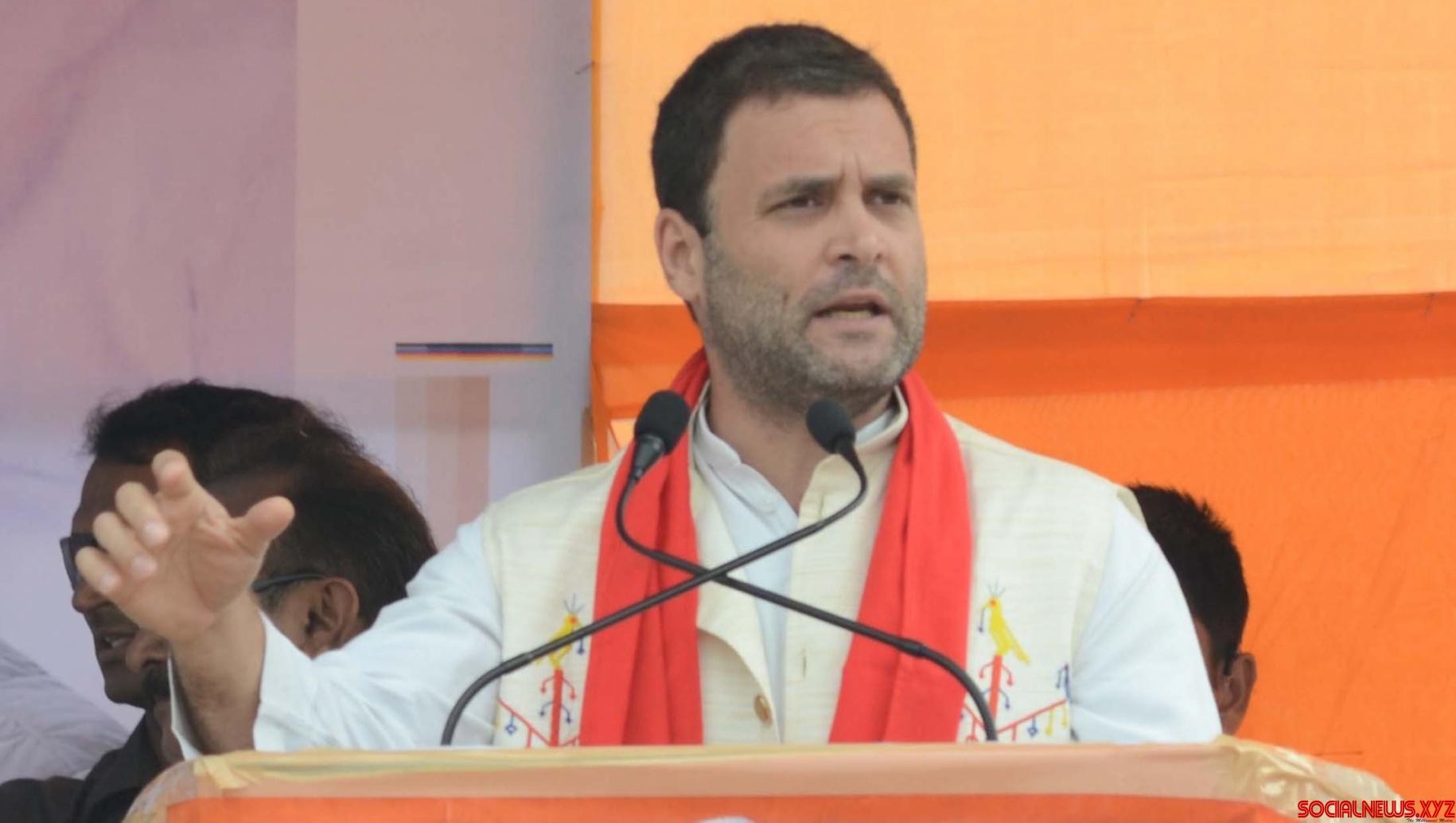 Maharashtra polls: Rahul Gandhi to hold 3 rallies