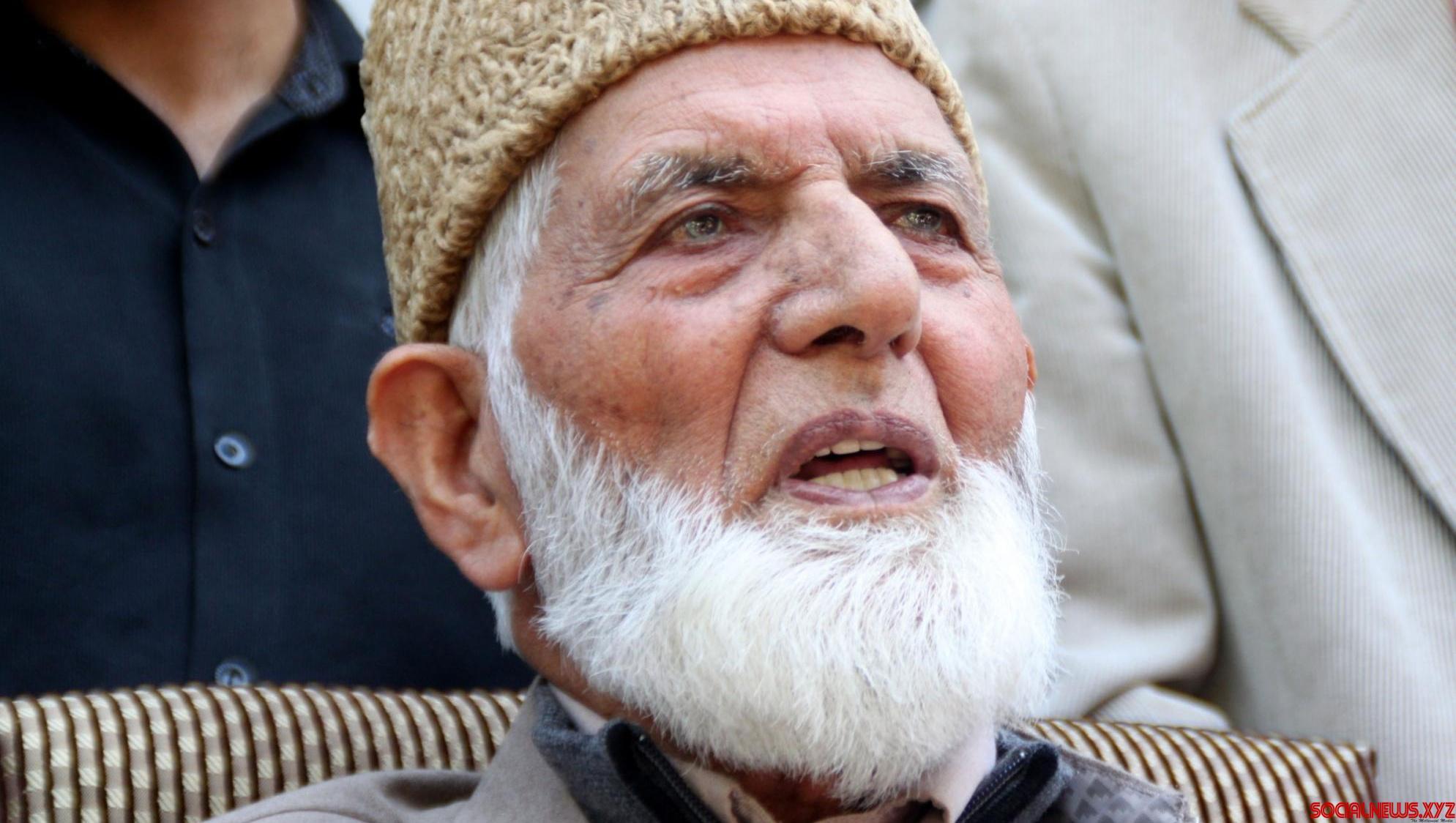 Geelani under NIA scanner for allegedly receiving Lashkar funds