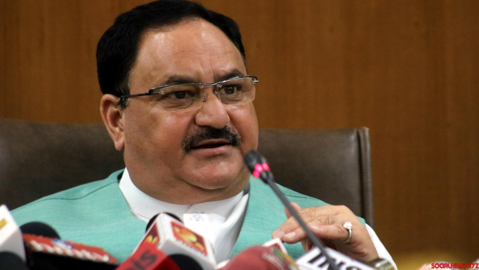 Nadda channelises BJP's energy to fight Covid-19