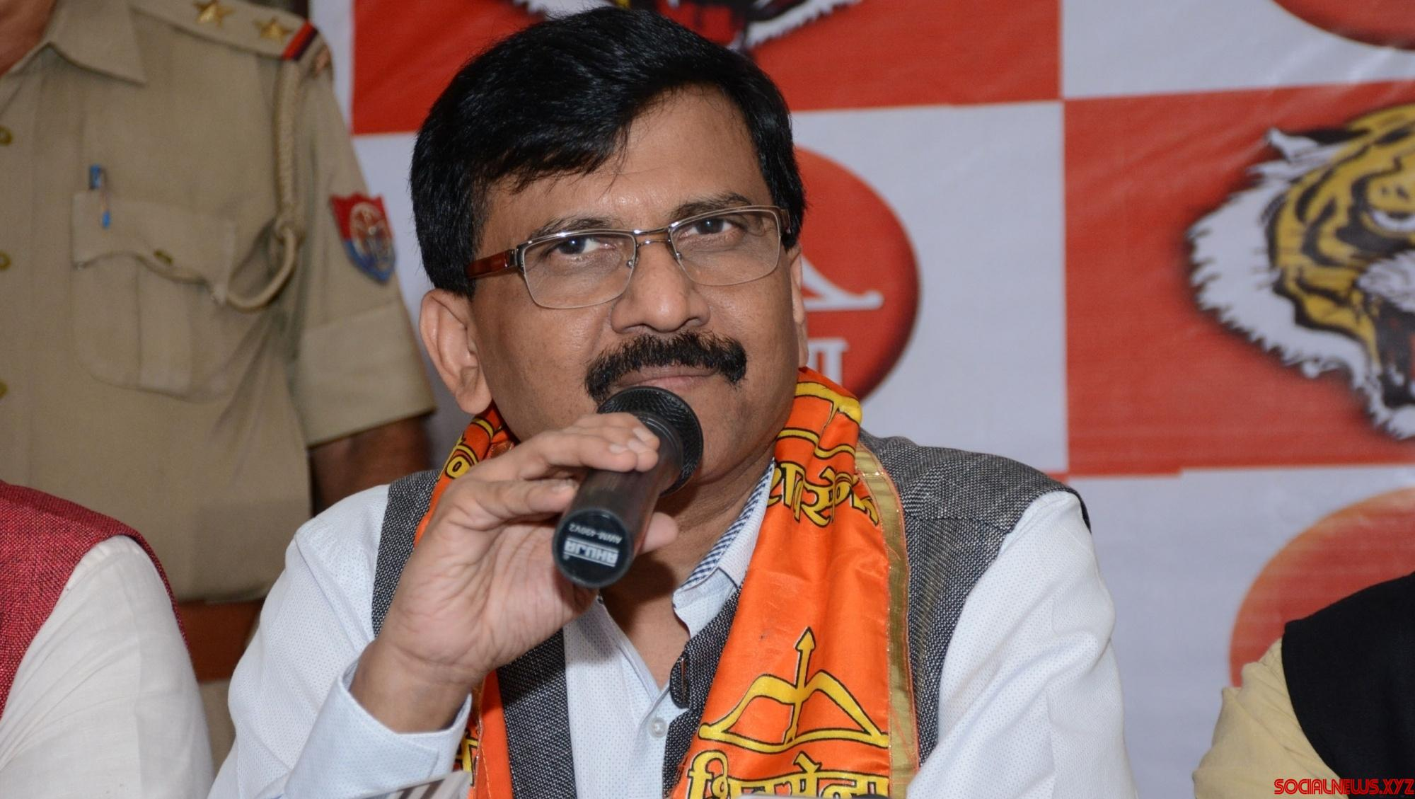Sena's Raut may meet Congress leaders in Delhi on Monday