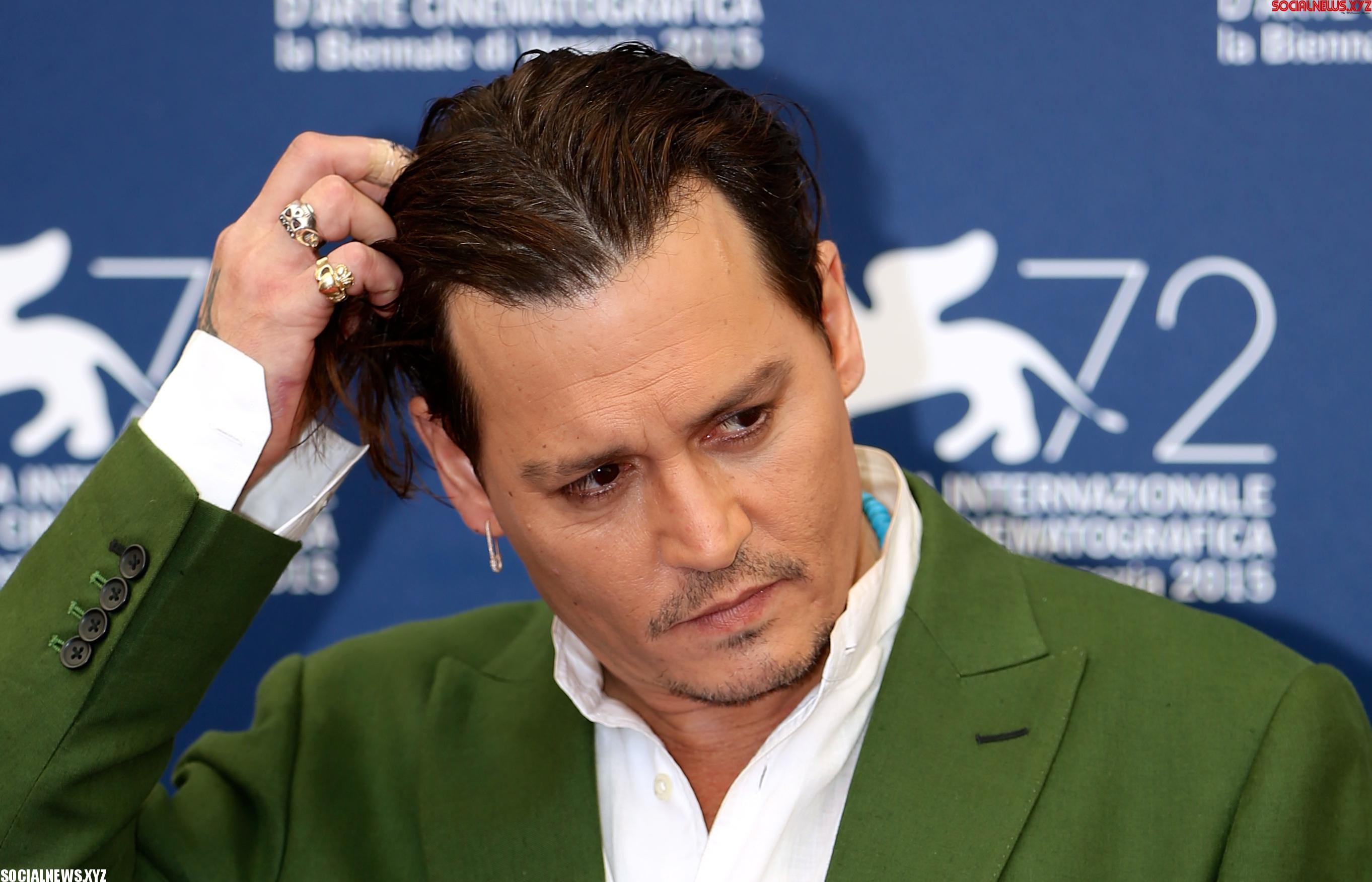 Depp once hooked up with woman in car trunk