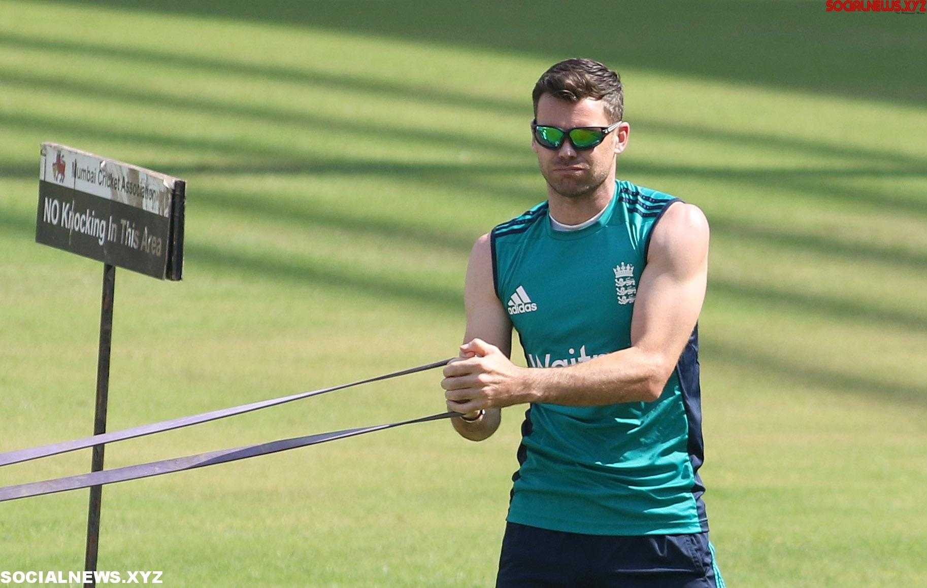 James Anderson to train at Man City to recover from injury