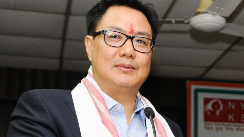 Hopeful that India will have sporting events from Sept or Oct: Rijiju