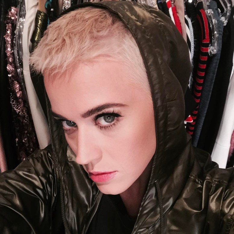 Short hair changes Katy Perry's view on make-up